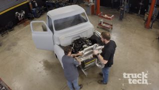 Custom Intercooler For An Ecoboost-Powered '55 F100