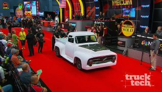 '55 Ford F100 Restomod: Bare Metal to Mecum Sold