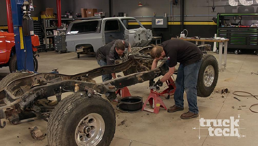Klassy K5 Frame Repair Axles Truck Tech