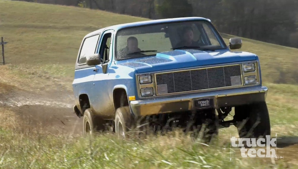Supercharged '89 K5 Square Body Searches For a Mud Hole