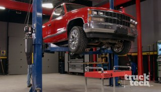 Installing 4/6 Lowering Kit on a Chevy K1500 4x4