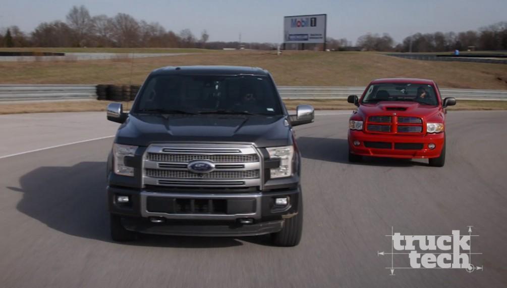 Ford F150 EcoBost Vs. Dodge Ram SRT-10