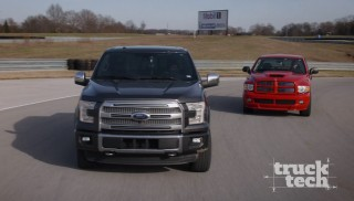 Ford F150 EcoBoost vs Dodge Ram SRT-10: Muscle Trux Build-Off Begins