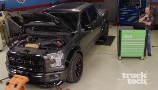 Ram SRT-10 vs. F150 EcoBoost:  Muscle Trux Build-Off Shootout