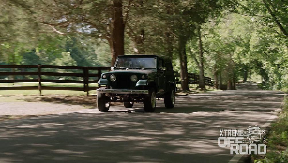 The Jeepster Commando