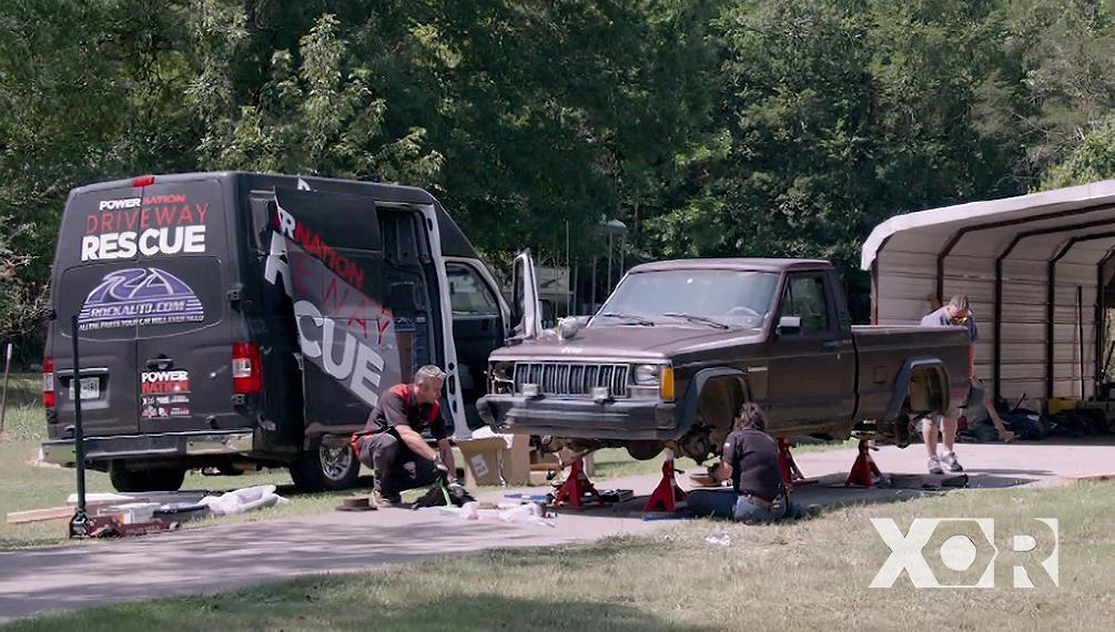 Jeep Comanche Driveway Rescue!