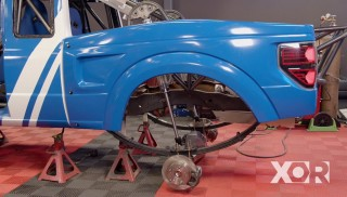 Prerunner Ranger Suspension Mods and Fiberglass Panels