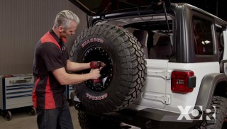 JL Rubicon: Tires and Under Armor