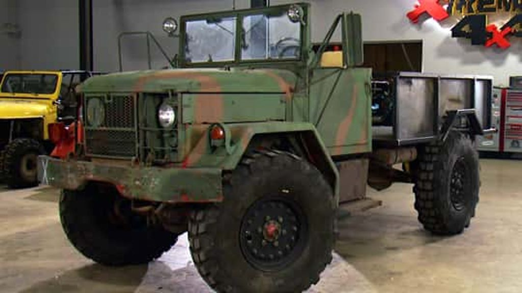 Military 6x6 Bobbed Deuce Part II