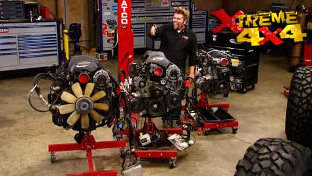 The LS Series Engines for Off Road
