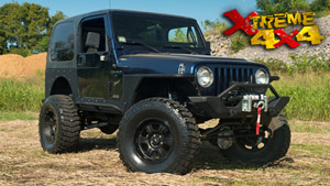 Jeep TJ: On the Road, In the Rocks!
