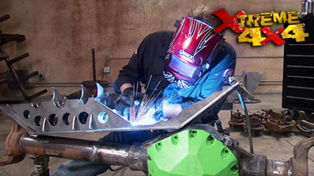 2-Car Garage Crawler Part 2 / Hudlow Axles : Xtreme 4x4