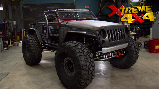 Hot Rod Jeep Part 2