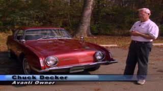 The Studebaker Avanti  - (close duplicate to other avanti video)