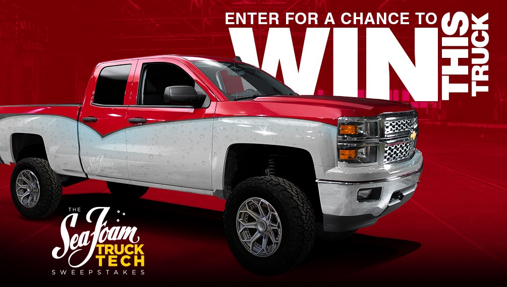 The Sea Foam Truck Tech Sweepstakes image