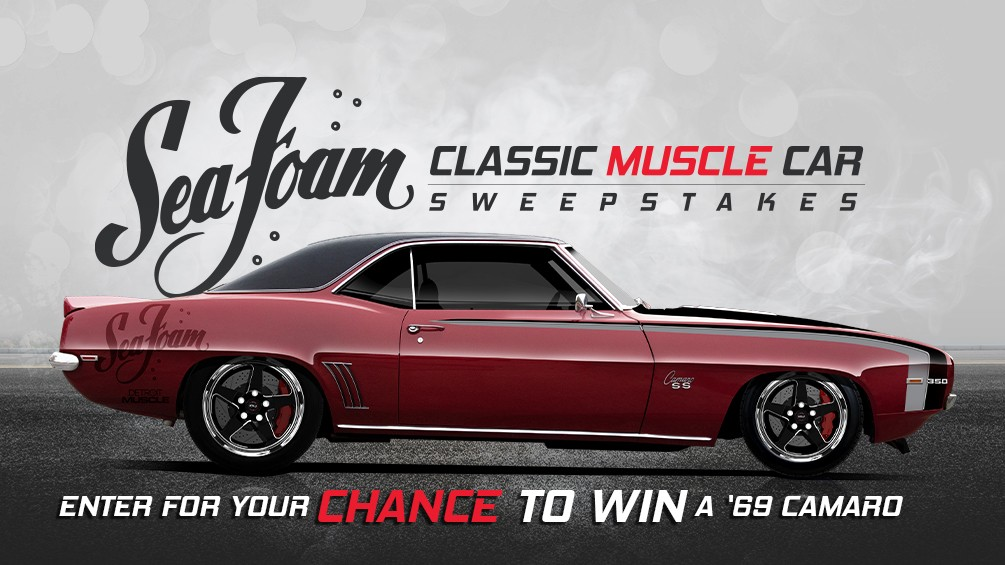 Sea Foam Classic Muscle Car Giveaway image