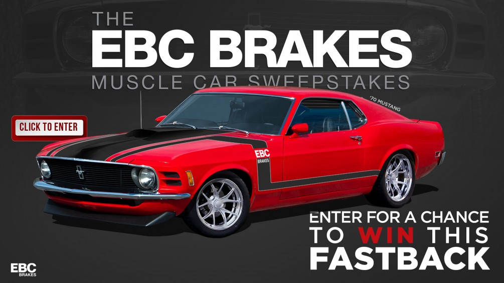 EBC Brakes Muscle Car Sweepstakes image