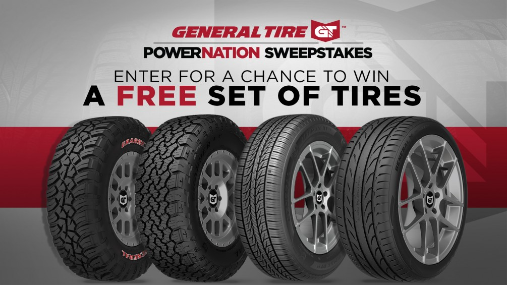 General Tire POWERNATION Sweepstakes image