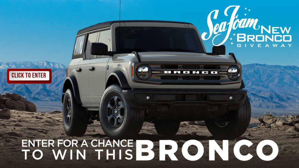 Sea Foam New Bronco Giveaway image