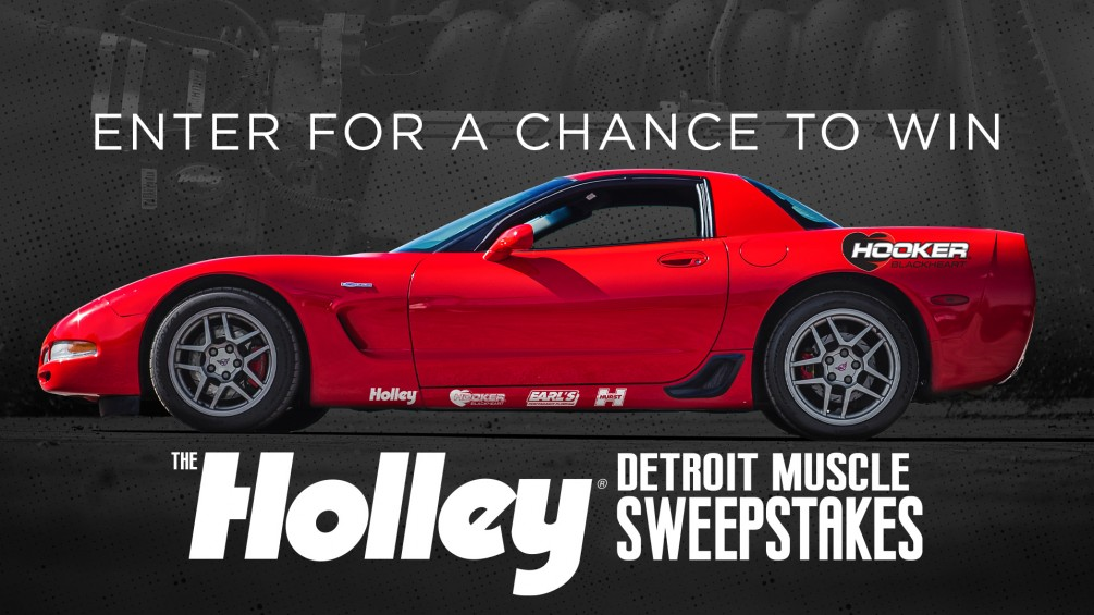 Detroit Muscle Holley Sweepstakes image