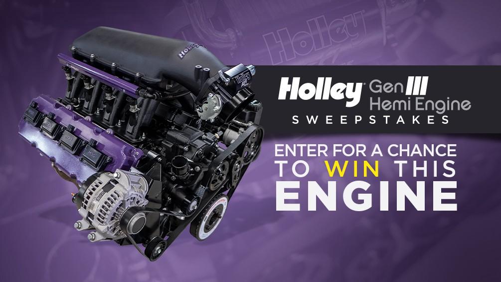 Holley Gen III Hemi Engine Sweepstakes image