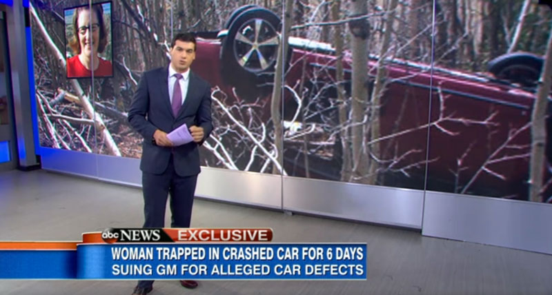 Colorado Woman Trapped In Her Car For 6 Days Sues GM.. Here's Why She Did It!