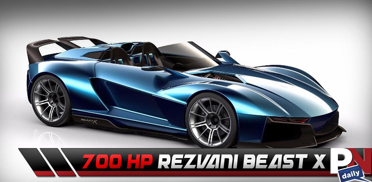 The 700HP 2.4L 4 Cylinder Rezvani Beast X