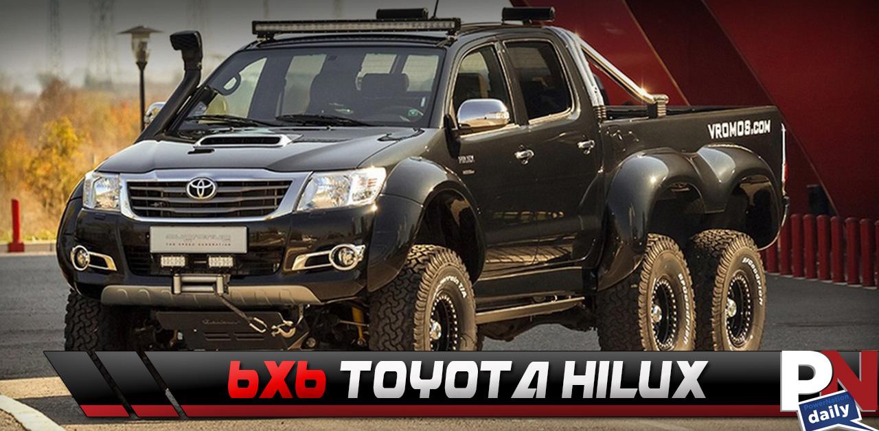 Toyota Turbo Diesel Truck >> The 3l Turbo Diesel 6 6 Toyota Hilux