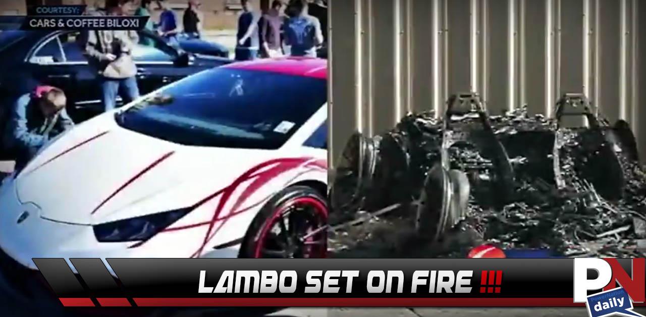 Lamborghini Burned, Alt. Fuel V16 Engine, Yield Means Yield, Lexus ICE Wheels? Liberty Walk McLaren 650S, Top 5 Fast Fails