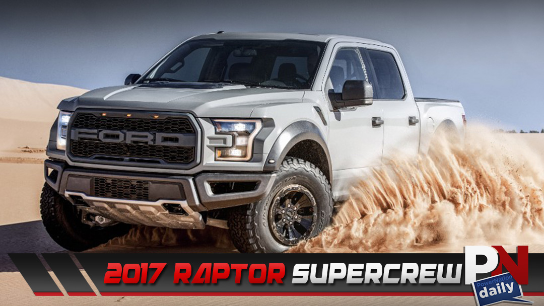 The All New 450 HP 2017 Ford F-150 Raptor SuperCrew!