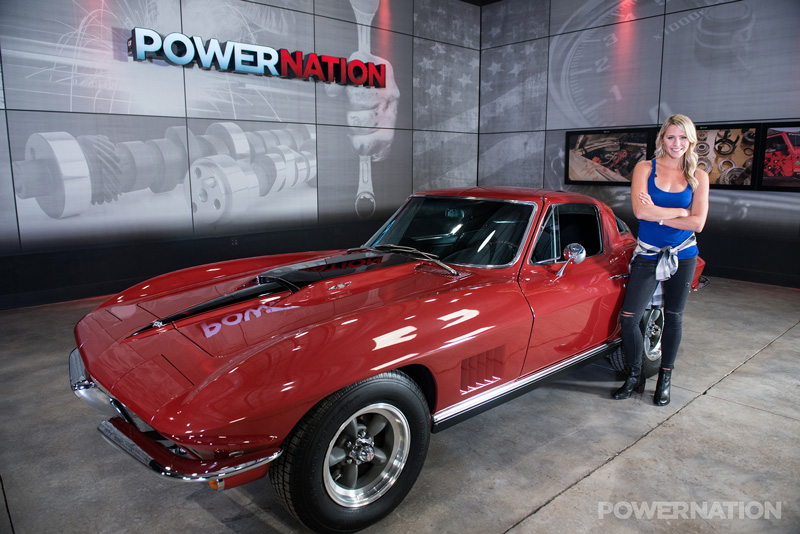 This 1967 Corvette Sting Ray Was Rebuilt And Got A Punched-Out 454 Rat!!!
