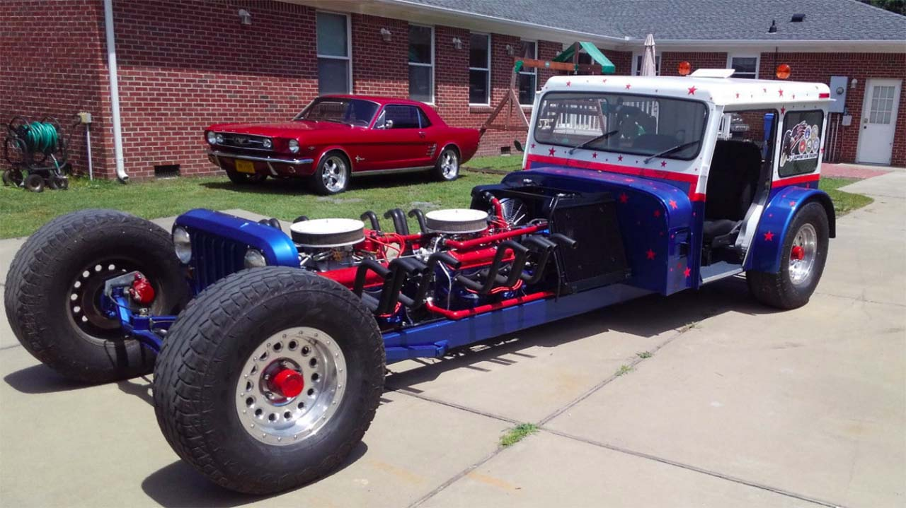 Street-Legal 1983 Postal Jeep Powered By Twin Small Block