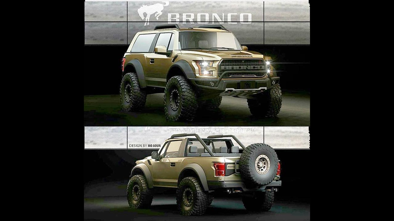 Rendering What Most Fans Hope The New Bronco Might Look Like