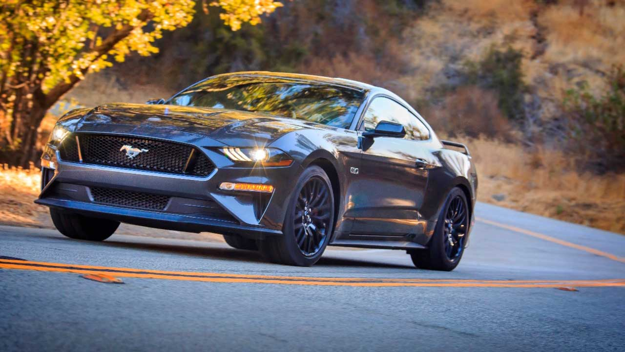Fords new godzilla 7 3 liter v8 can fit into a mustang