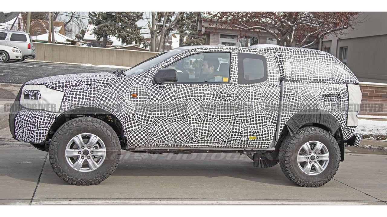 Is This The New 2021 Ford Bronco Test Mule