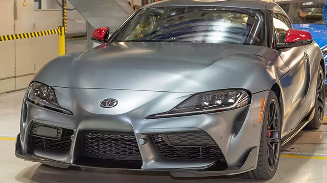 The First Production 2020 Supra Has Rolled Off The Assembly Line