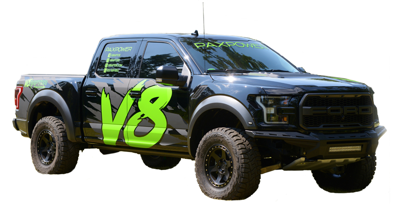 There Is Now The Option To Buy A V8 Or Diesel Powered Ford F