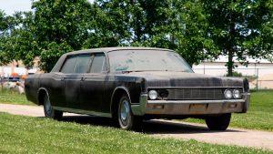 Elvis Presley's Lincoln Limousine Hits The Auction Block