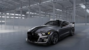 Ford Built A One-Off, Custom Shelby GT500 For Charity