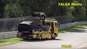 Tesla Model S Prototype Breaks Down, Gets Lapped By Porsche Taycan At Nurburgring