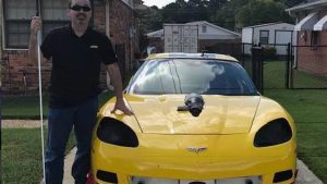 Former Pro Drag Racer Hoping To Become World's Fastest Blind Man In Modified Corvette