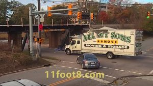 The Infamous '11-Foot-8′ Bridge Known For Taking Out Trucks Will Be Raised Eight Inches