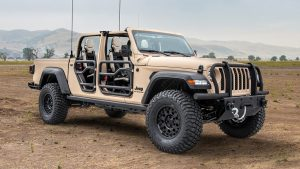 Jeep Teams Up With AM General To Create Military-Spec Gladiator