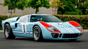 GT40 Driven By Christian Bale In 'Ford v. Ferrari' Heading To Auction
