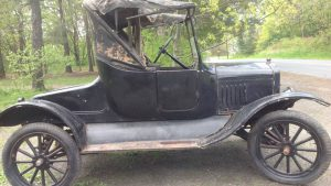 Original 1924 Ford Model T For Sale After Found Sitting In A Barn For 50 Years