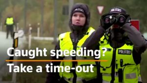 """Police Offering Speeders The Option Of A """"Time-out"""" Instead Of Fine"""