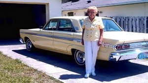 93-Year-Old Turns In Keys After 567,000 Miles With Her 1964 Mercury Comet Caliente