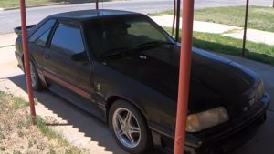 Neighbors Restore '88 Ford Mustang GT That Belonged To Woman's Late Son