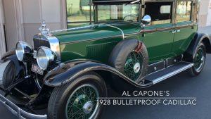 Legendary Gangster Al Capone's Bulletproof 1928 Cadillac For Sale