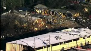 Houston Explosion Levels Shop Housing Classic Chevy Corvettes Worth $1 Million